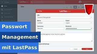 🔐 Passwort-Management in der Cloud mit LastPass