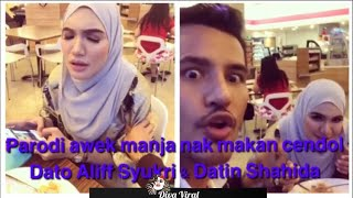 Download Video Parodi awek manja nak makan cendol versi Dato Aliff Syukri dan Datin Shahida MP3 3GP MP4