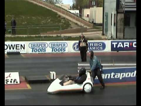 Sinclair C5 drag racing