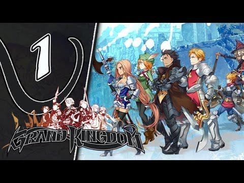 Grand Kingdom Gameplay Walkthrough Part 1 (PS4, Vita)