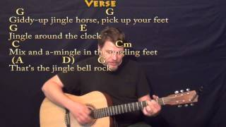 Jingle Bell Rock (CHRISTMAS) Strum Guitar Cover Lesson in G with Chords/Lyrics