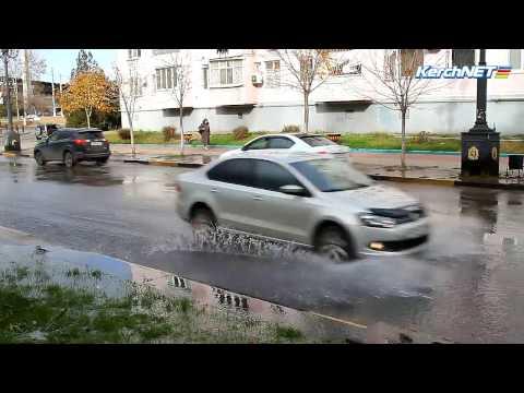 На улице Карла Маркса настоящий потоп