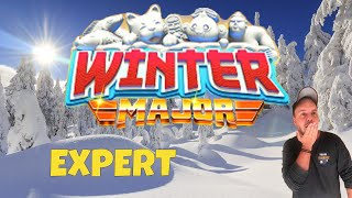 Golf Clash tips, Playthrough, Hole 1-9 - EXPERT *Tournament Wind* - Winter Major Tournament!