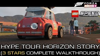 Forza Horizon 4 LEGO Hype Tour Horizon Story (3 Stars Complete Walkthrough)