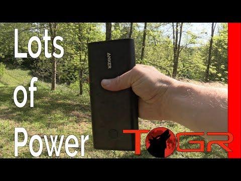 LOTS Of POWER!! - Anker PowerCore+ 26800mAh Battery Bank – Review