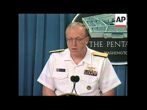 USA: TALKS OVER AIR IRAQ SPACE
