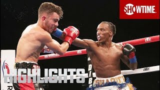 Fernandez vs. Foster: Highlights | SHOBOX: THE NEW GENERATION