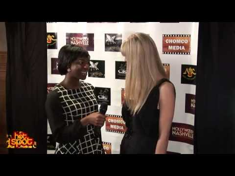 HIP KITTY Hollywood Meets Nashville Grammy viewing party. Red carpet interview