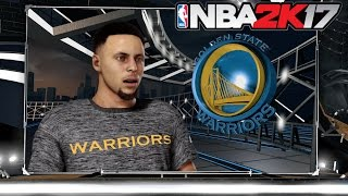 NBA 2K17 (PS4) Warriors vs Thunder Gameplay (Full Game!)
