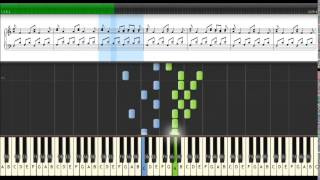 Anne Clark  Poem without words 2  Tutorial piano Synthesia