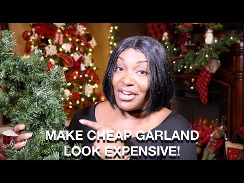 on-a-budget?-how-to-make-a-garland-look-rich-elegant-and-expensive!!