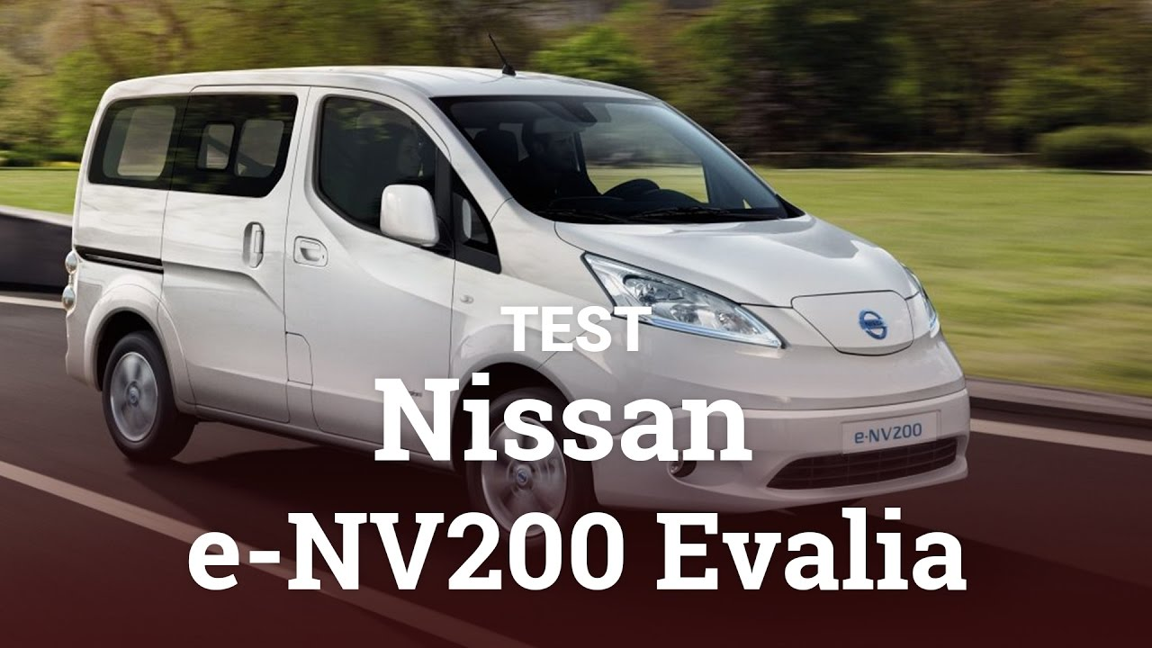 nissan e nv200 evalia test youtube. Black Bedroom Furniture Sets. Home Design Ideas