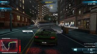 Need For Speed Most Wanted 2012 (PC) 60fps Ultra gameplay