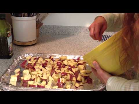How to cook oven baked red potatoes