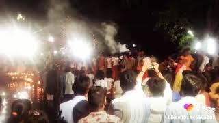 #Maa samleswari mandir Champa/ jawara visarjan ##