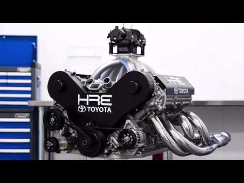 Listen to This 510-HP Toyota V-8 Rev to 8100 RPM