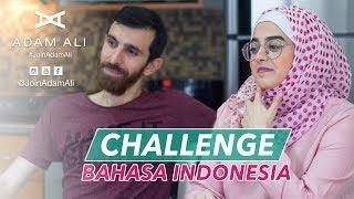 CHALLENGE BELAJAR BAHASA INDONESIA - ADAM VS NADINE