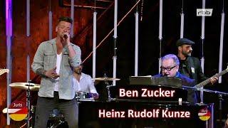 Ben Zucker und Heinz Rudolf Kunze «Dein ist mein ganzes Herz» Schlager, Stars und 80er