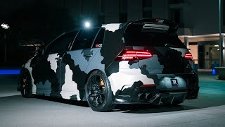 The Camo Effect; Volkswagen Golf R (MK7)   4K