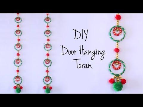 Door Hanging Toran | Diwali Decoration Ideas | Bandhanwar Making | Door Hanging Decorations Ideas
