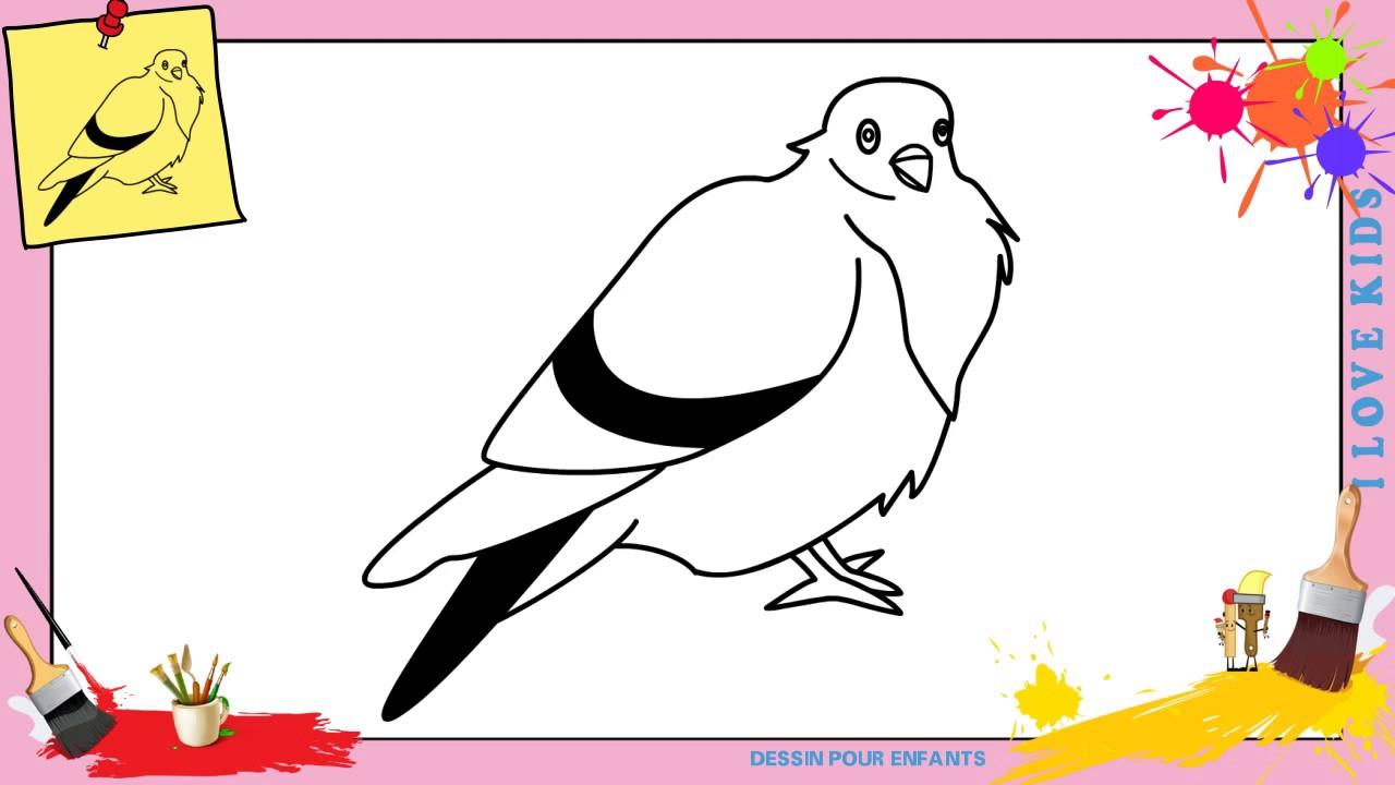Dessin pigeon 2 facile comment dessiner un pigeon facilement etape par etape youtube - Dessin pigeon ...