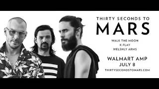 Thirty Seconds to Mars at the Walmart AMP - July 8, 2018