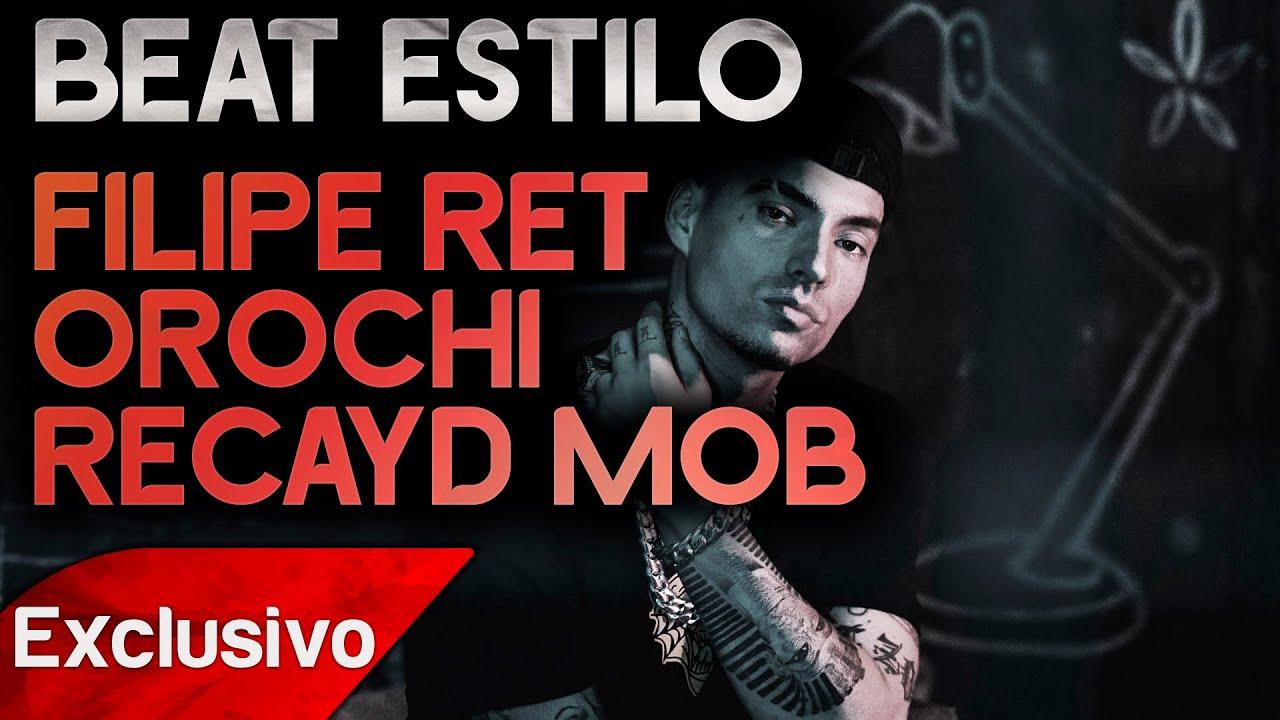 Filipe Ret | Orochi e Recayd Mob Type Beat - Trap Pesado - Rap Instrumental Agressivo Grave 808