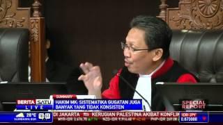 Special Report #3: MK Nilai Gugatan Prabowo-Hatta Tidak Konsisten