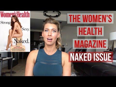 Women's Health Magazine NAKED ISSUE   ANNA VICTORIA