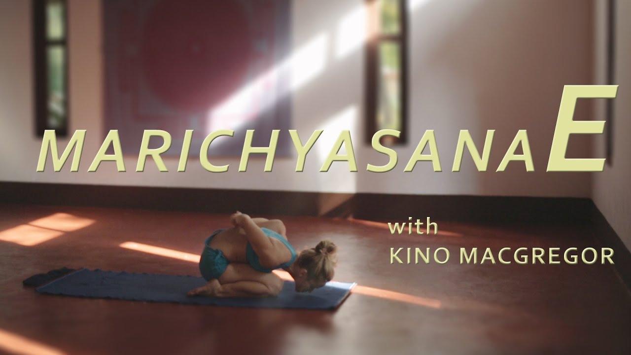 Marichyasana E with Kino Macgregor (Fourth Series Ashtanga Yoga Demonstration)