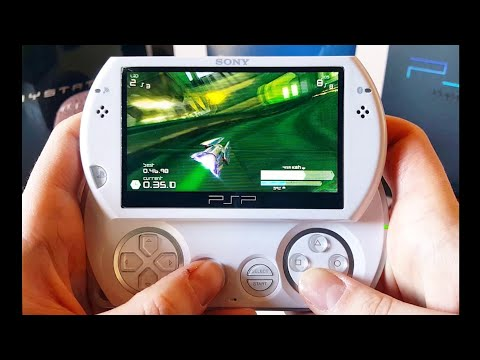 Wipeout Pulse Gameplay - PSP Go 2019 - YouTube