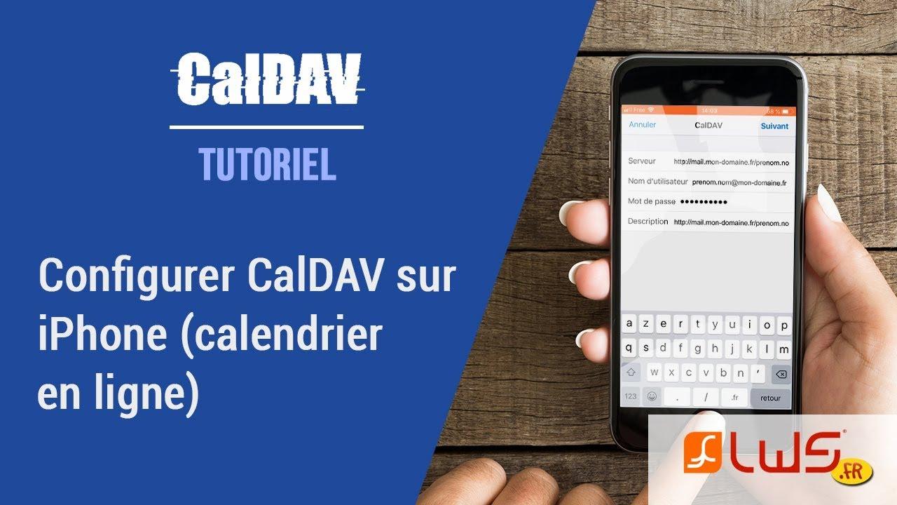 Mon Calendrier Fr.Configurer Caldav Sur Iphone Calendrier En Ligne