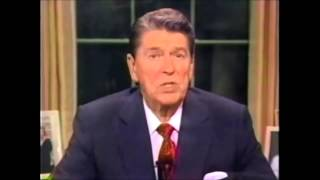 "Obama vs Reagan ""How to handle a terrorist""."