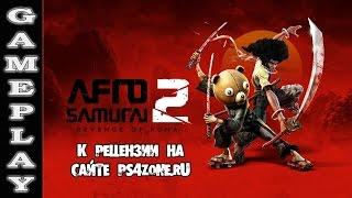 Afro Samurai 2: Revenge of Kuma - Геймплей к рецензии (PS4)