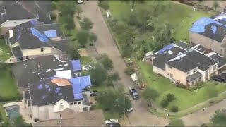 Hurricane Harvey: Houston Struck by Tornadoes as Flooding Fears Grow   NBC Nightly News
