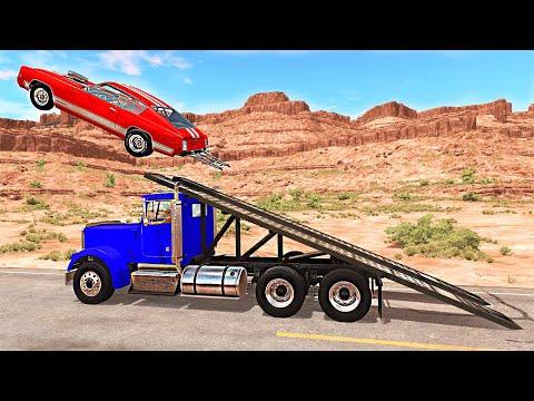 Cars vs Ramp Truck 2 – BeamNG.Drive