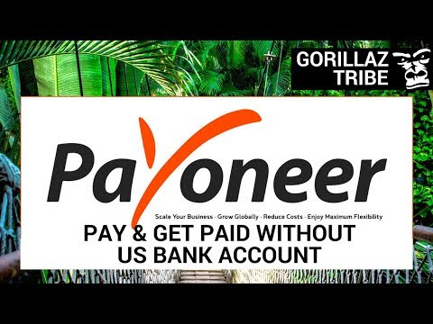 Payoneer: ANYONE Can Pay & Get Paid Without US Bank Account On Amazon FBA