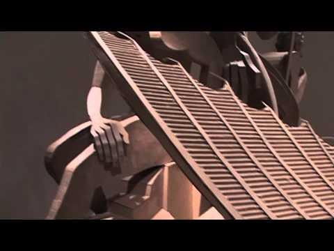 The Cardboard Bernini