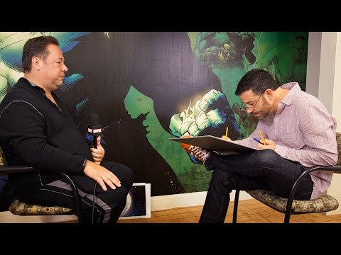 Watch as Jimmy Kimmel Draws Joe Quesada!