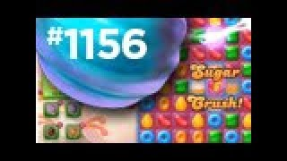 candy crush jelly level 1156 COMPLETE!  no booster
