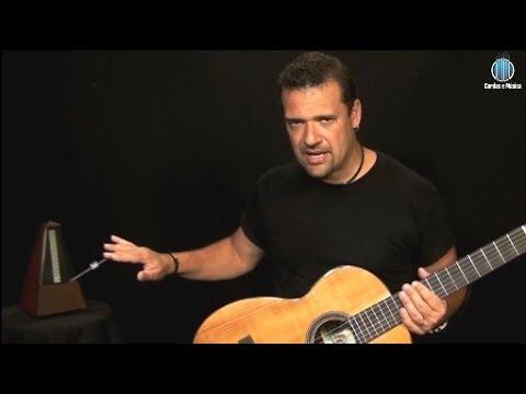Módulo 4 (AULA GRATUITA) Violão Clássico - 1ª Lição (Parte 1) - Cordas E Música