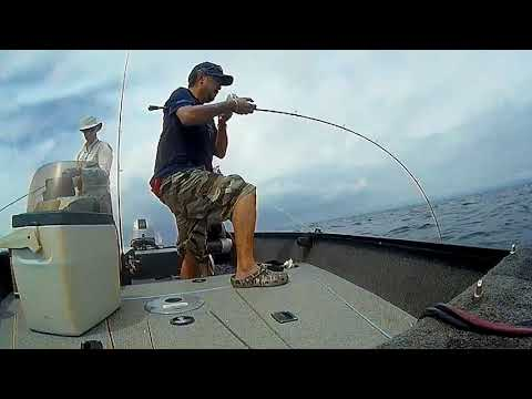 Jigging Summer Lake Trout With Slow Jigs