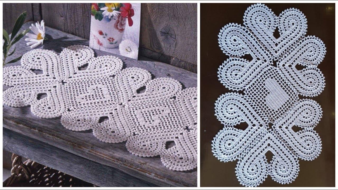 مفرش طاولة مميز جدا مع إمكانية التكبير الجزء الثاني 2 Crochet Doily Easy And Very Beautiful Youtube
