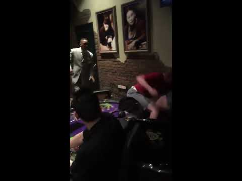 Fight At The Poker Table
