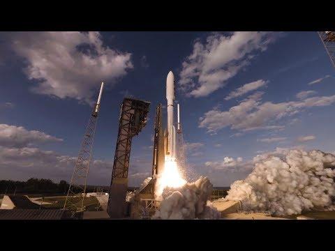 GOES-S Atlas V Launch in 360