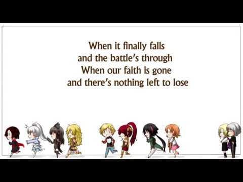 Let's Just Live (feat. Casey Lee Williams) by Jeff Williams with Lyrics -  RWBY Volume 4 Soundtrack