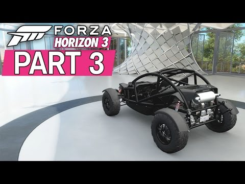 """Forza Horizon 3 - Let's Play - Part 3 - """"Outback Buggies, Barn Find #1"""""""