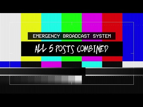 New Emergency Alert System Message | FULL | Creepy Pasta Scary Stories