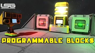 Space Engineers - Programmable Blocks, C# Coding