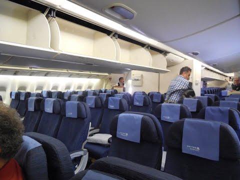 Flying United Airlines Economy B777-200 Chicago-Munich